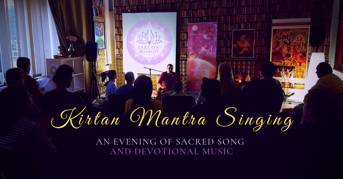 Kirtan: workshop de mantra meditație muzicală